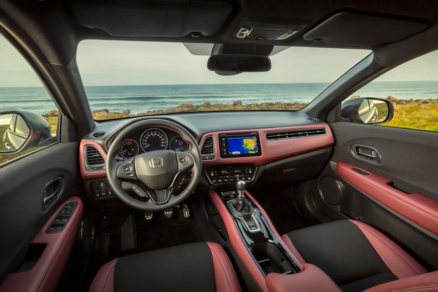 Honda HR-V Sport interior.