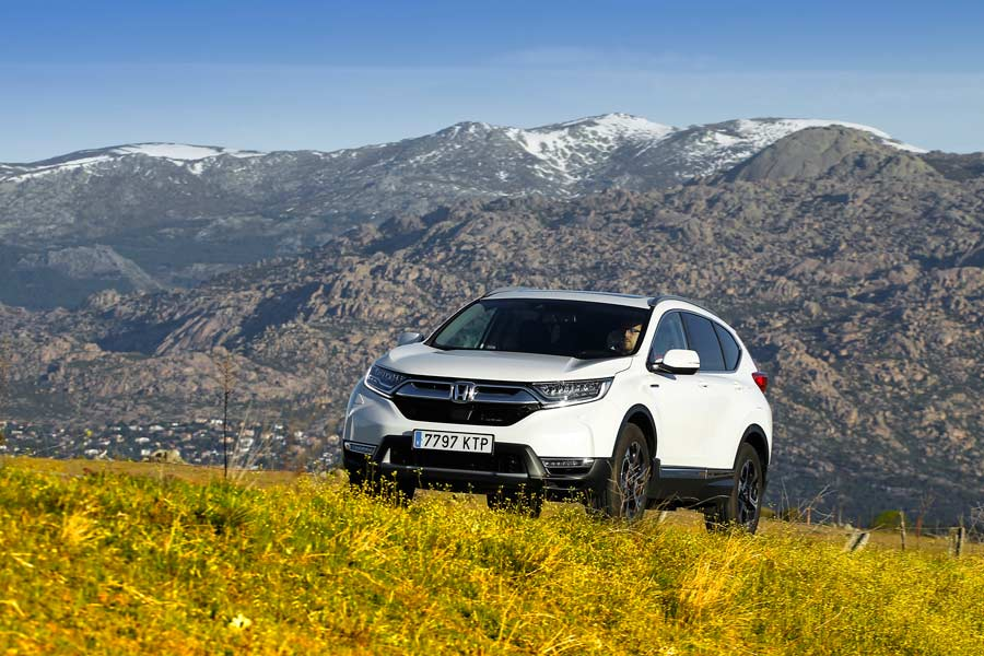 Honda CR-V híbrido 2019 dinámicas.