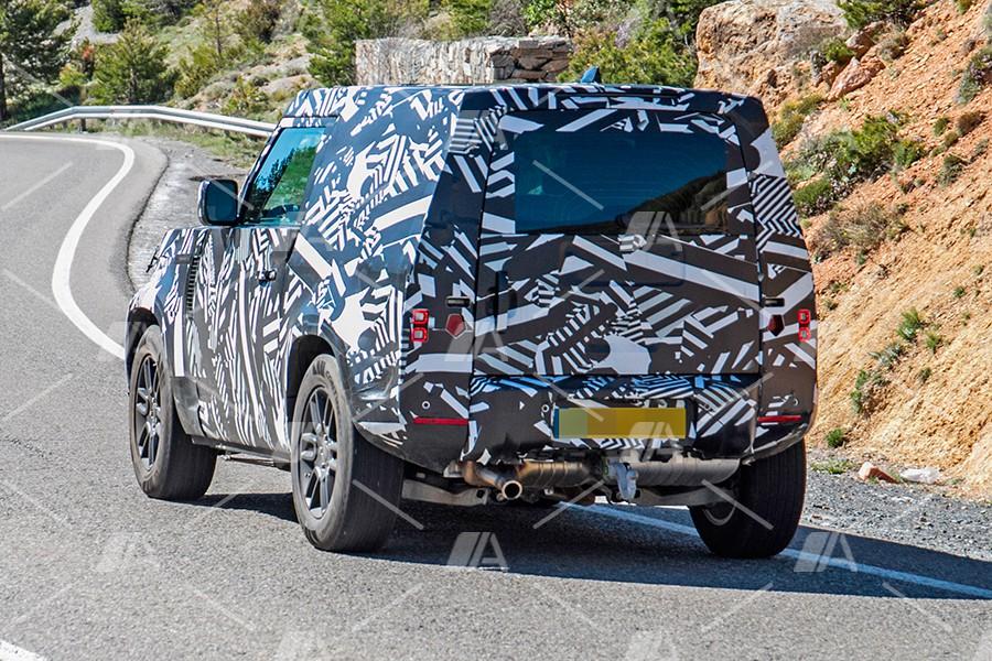 Fotos espía del nuevo Land Rover Defender 90 y 110 2020