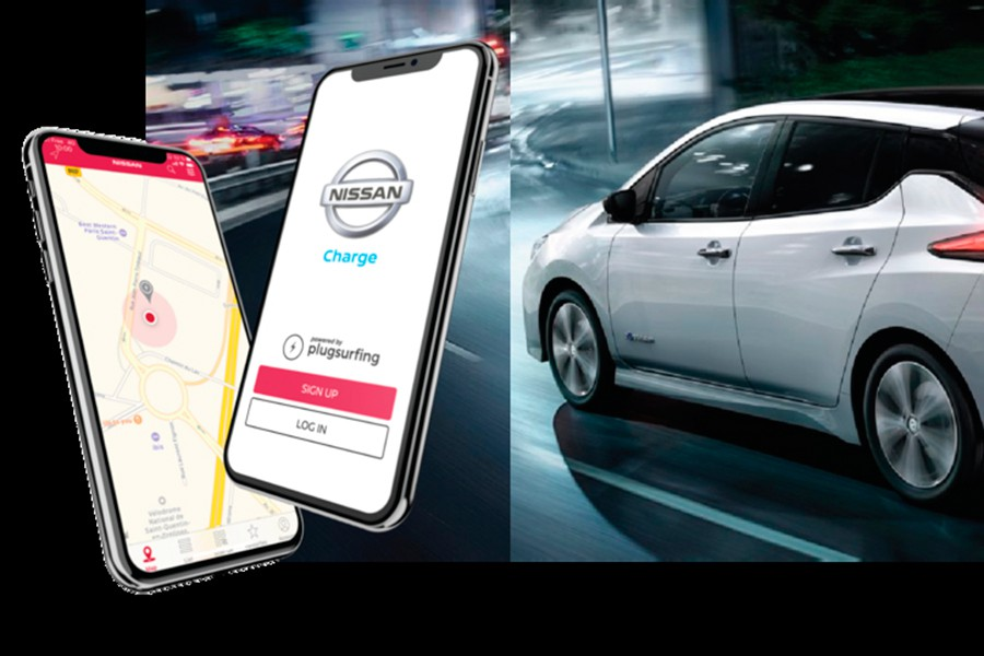 App Nissan Charge