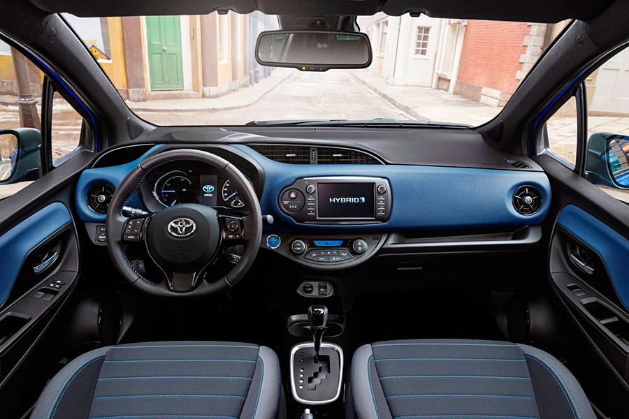 Toyota Yaris híbrido, de oferta