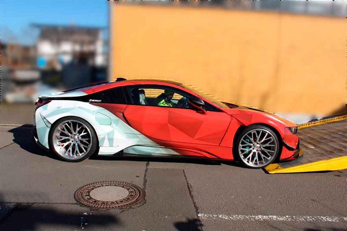BMW i8 modificado