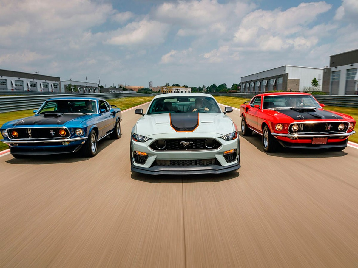 2021 Mustang Mach Exterior and Interior