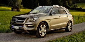 Nuevo Mercedes ML 500 4MATIC BlueEFFICIENCY