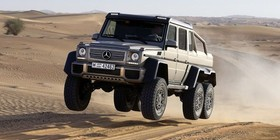 Mercedes G63 AMG 6×6: el todoterreno definitivo