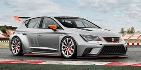 Seat León Cup Racer, en Goodwood