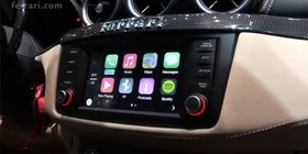 Ferrari California T, el primer coche con CarPlay de Apple