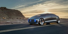 El Mercedes F 015 Luxury in Motion, en el CES de Las Vegas 2015
