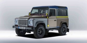 Land Rover Defender, edición Paul Smith
