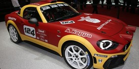 Abarth 124 Rally, la marca del escorpión regresa a la competición