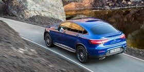 Mercedes GLC Coupé, el anti-X4 se presenta en Nueva York