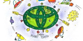 Ganadores españoles del Toyota Dream Car Art Contest 2016