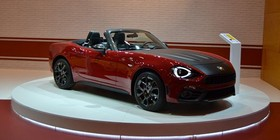 Abarth 124 Spider, en Madrid Auto 2016