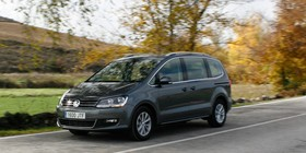 Prueba VW Sharan 2.0 TDI 150 CV manual 6 marchas