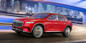 Vision Mercedes‑Maybach Ultimate Luxury: lujo asiático