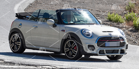 Fotos espía del Mini John Cooper Works descapotable 2019