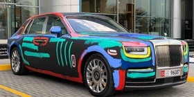 Rolls-Royce Phantom Art Car: ¿obra de arte o crimen?