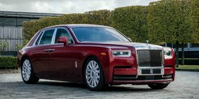 El «one-off» Rolls-Royce Red Phantom se une a la lucha contra el SIDA