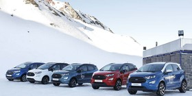 """Ford Snow Driving"": conduce un Ford EcoSport 4×4 por la nieve"