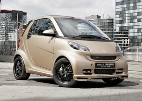 El smart BRABUS tailor made by WeSC toma como base un fortwo cabrio