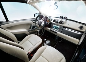 smart for two 2012 interior