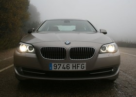 BMW Serie 5 520d, frontal