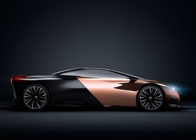 Peugeot Onyx, lateral