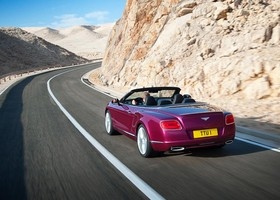 Bentley Continental GT Speed convertible, trasera