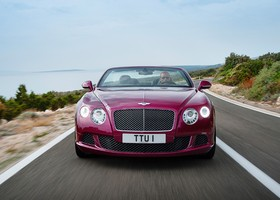 Bentley Continental GT Speed convertible, frontal