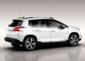 Peugeot 2008, lateral