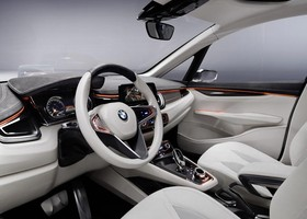 Interior del nuevo BMW Concept Active Tourer.