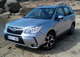 Subaru Forester, frontal