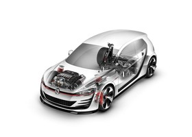 Volkswagen Golf GTi Design Vision Wothersee 2013