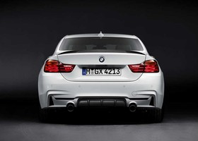 Zaga del BMW Serie 4 M Performance Pack.