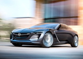 Opel Monza Concept multimedia LED
