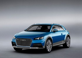 Audi Allroad Shooting Brake Detroit NAIAS 2014