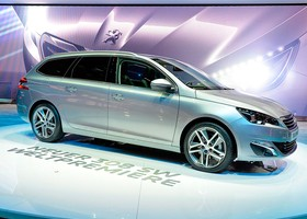 Peugeot 308 SW Ginebra 2014 car of the year