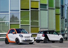 Smart ForTwo y For Four 2015