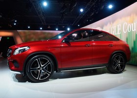 Mercedes AMG GLE 450 Coupé Detroit 2015