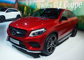 Mercedes GLE AMG Coupé Detroit