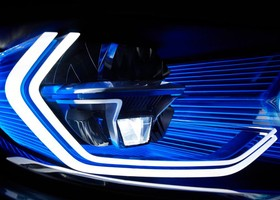 BMW M4 Iconic Lights Concept CES Las Vegas 2015
