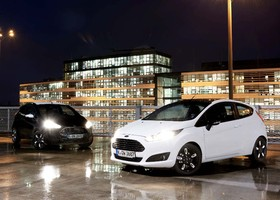 Ford Fiesta Black y White Edition.