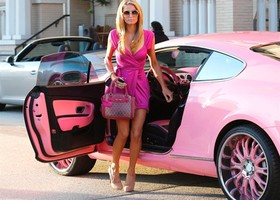 Bentley Paris Hilton
