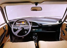 Citroen GS interior