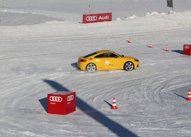 Audi Winter driving experience.