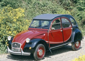 Citroën 2CV Charleston.