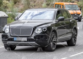 Fotos espía del Bentley Bentayga PHEV