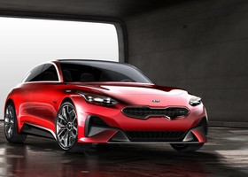 Frontal Kia Proceed Concept.