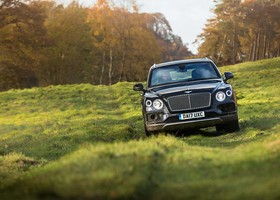 Bentley Bentayga Mulliner.