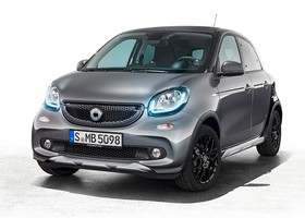 Nuevo Smart ForFour Crosstown Edition 2018